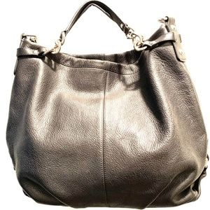Black Coach Brooke Hobo Bag #F16618